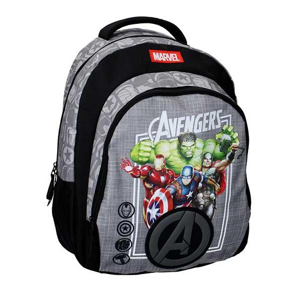 Avengers sort rygsæk