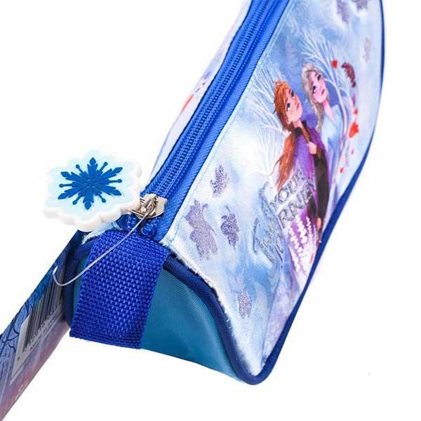 Frozen trekantet penalhus med glitter