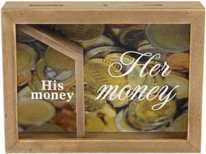 "Money bank ""Hans og Hendes"" sparekasse"