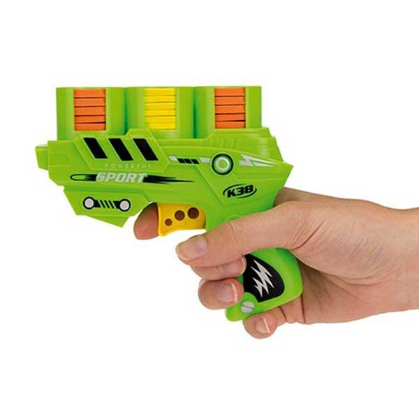 Skumskive pistol / softgun med skumskiver