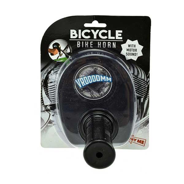 Sort gashåndtag til børnecyklen