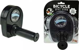 Gashåndtag med motorlyd til cyklen