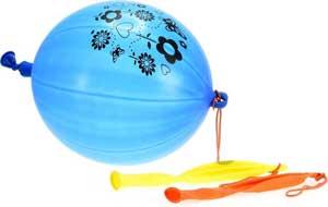 Bokse balloner til festen