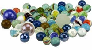 Toi Toys glaskugler og marmorkugler
