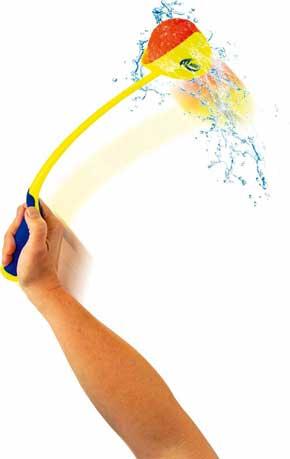Kastestang og Splashbolde, vandbolde og vandbomber