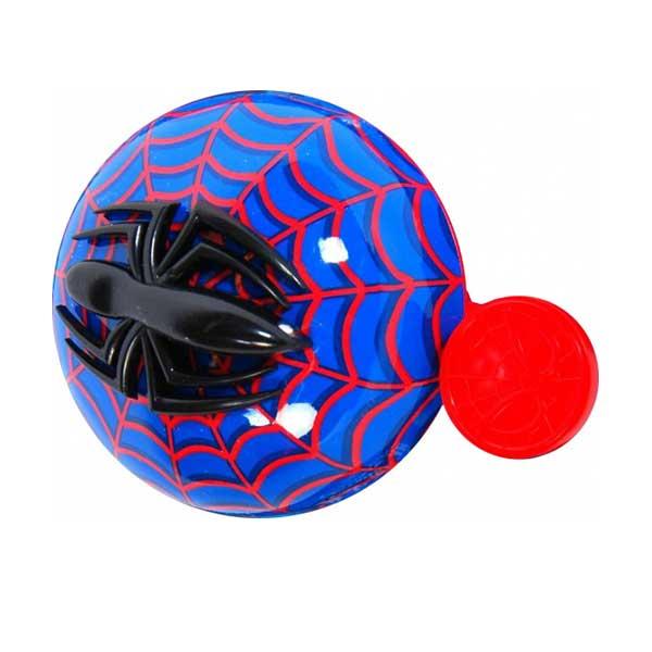 Spiderman 3D cykelklokke - ringeklokke til børn