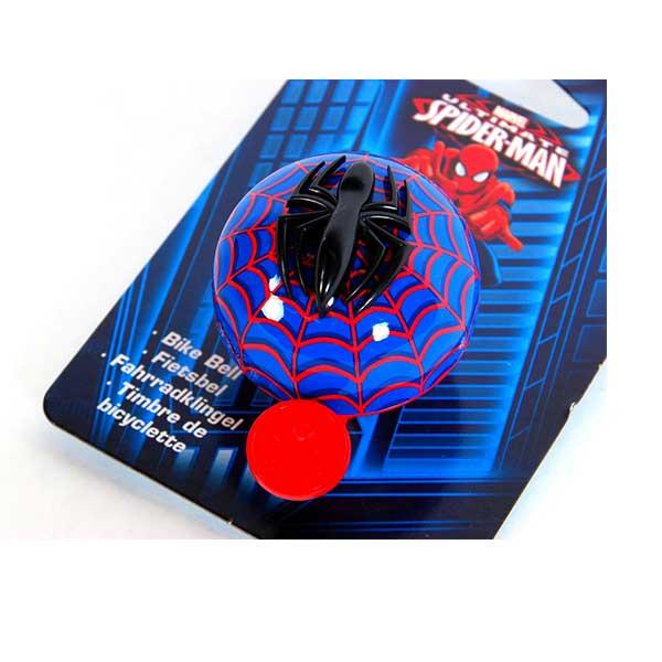 Spiderman 3D ringeklokke - cykelklokke til børn