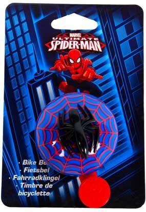 Spiderman 3D cykelklokke til børn