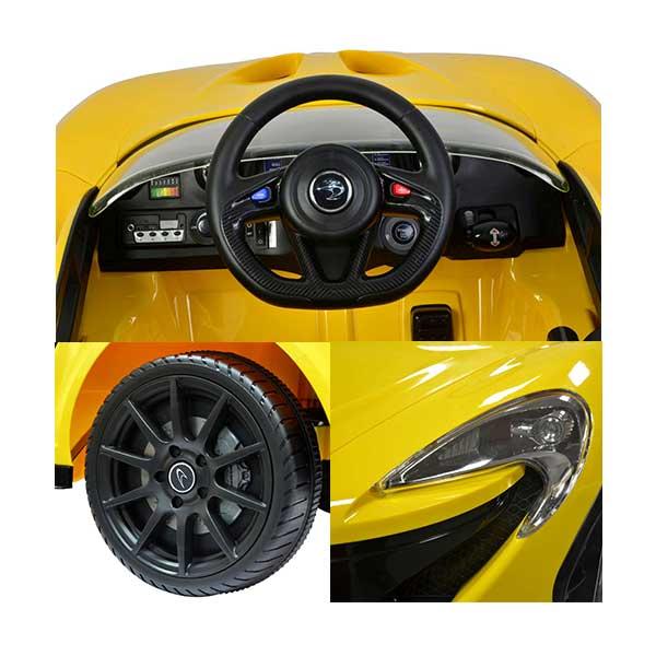 Elbil gul McLaren P1