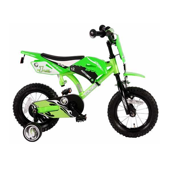 Grøn MTB børnecykel