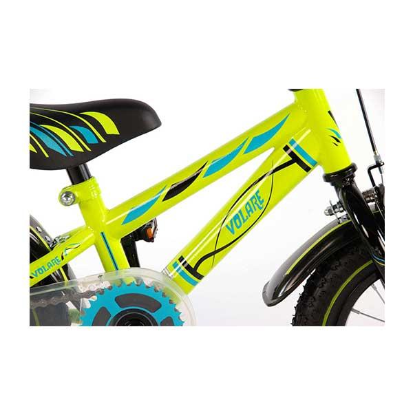 """12"""" drengecykel Volare Electric green"""