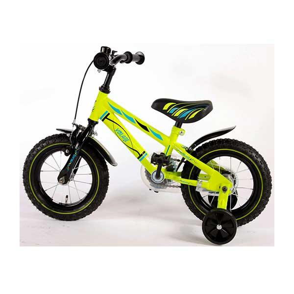 """Volare Electric green 12"""" drengecykel"""