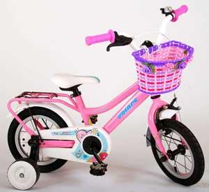 "Volare Brilliant 12"" lyserød pigecykel"
