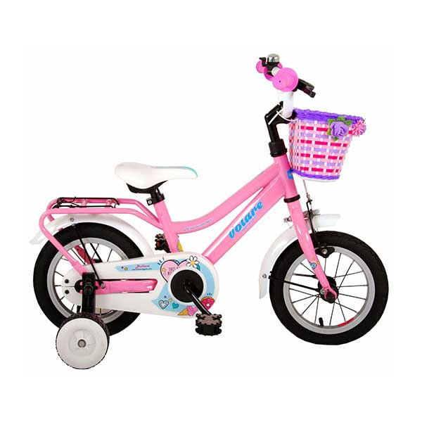 "Pigecykel 12"" lyserød"