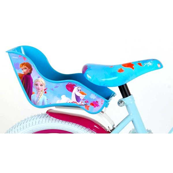 "Frozen 16"" børnecykel med fodbremse"