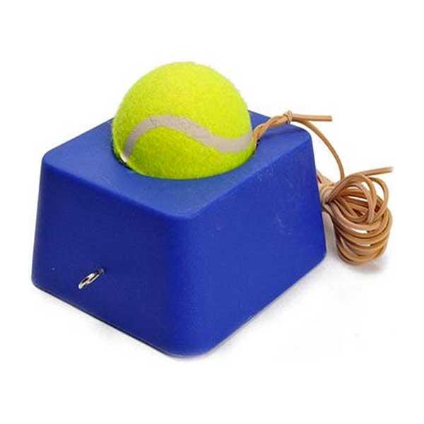 Tennisbold med fod og elastik