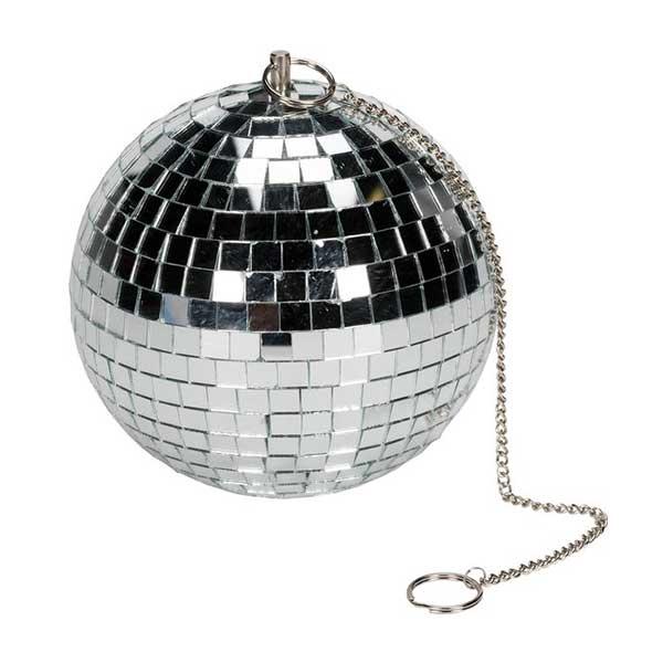 Disco / disko kugle, diameter 15 cm