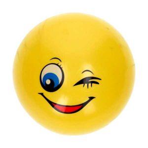 Smiley 14 cm plastbold