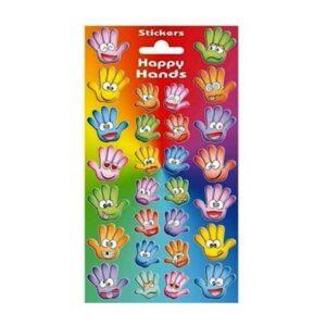 Funny Hands stickers / klistermærker