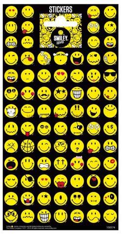 Emoji Smiley klistermærker stickers