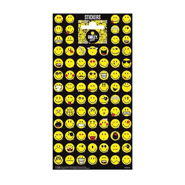 Emoji klistermærker stickers