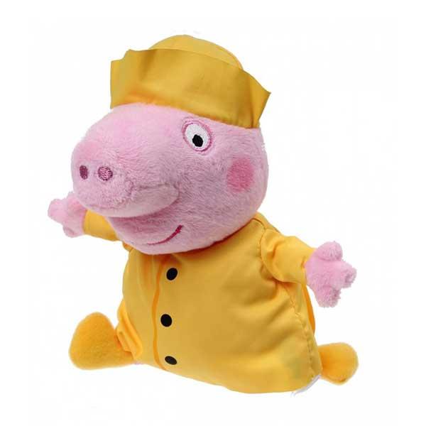 Gustav Gris i nattøj bamse i serien Gurli gris