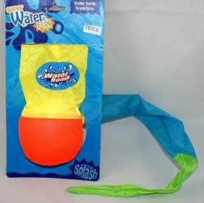 Water Fun vandbombe med hale