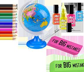 Skrive og tegneartikler til børn