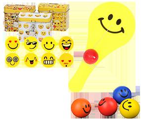 Legetøj med Emojis og smileys
