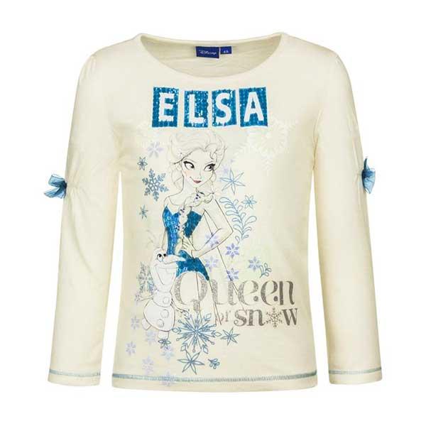 Elsa langærmet t shirt hvid