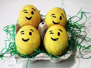 Æggejagt, gækkebreve og påskefest