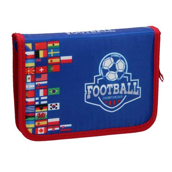 Fodbold penalhus med indhold
