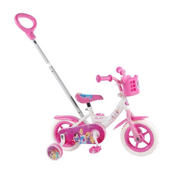 "Prinsesserne cykel 10"" med støttehjul"
