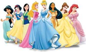 Princess og prinsesser
