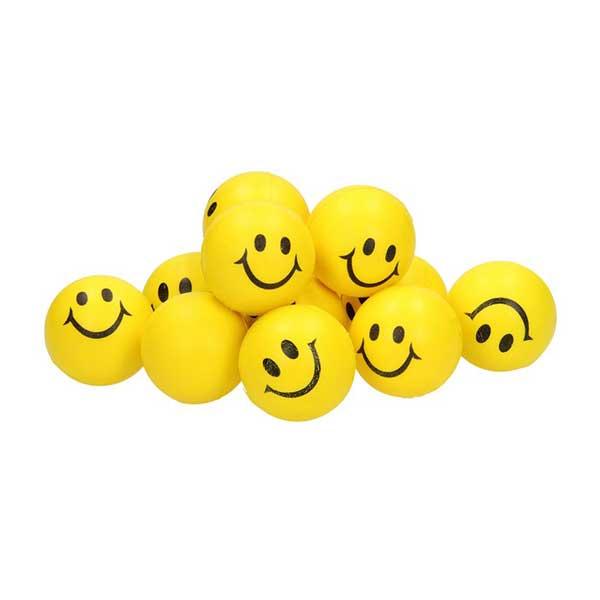 softball med smiley, en blød tennis bold